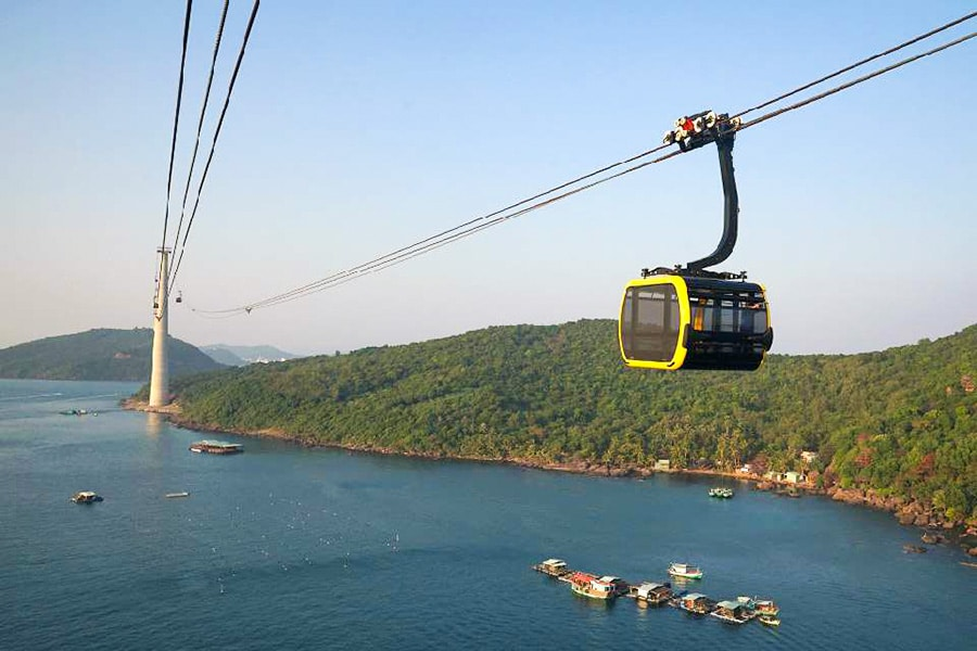cable car to hon thom phu quoc